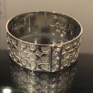 Authentic coach bangle bracelet